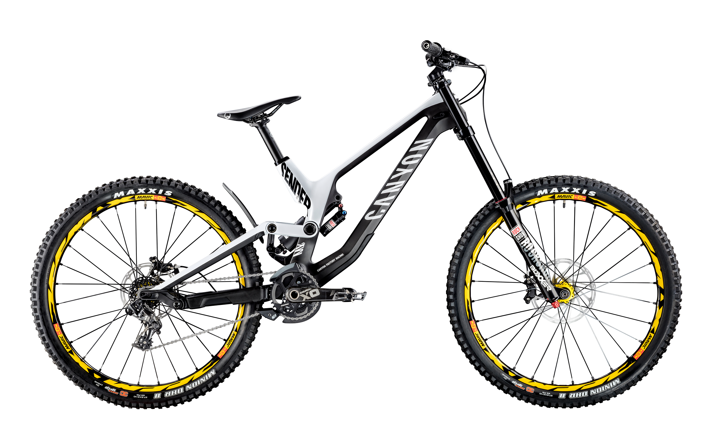 Carbon Fibre Downhill Bikes : SENDER | CANYON