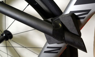 Picture 19: attach the seat post to the down tube