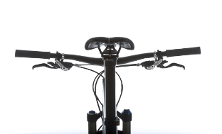 Picture 3: The ends of the handlebar should point upwards