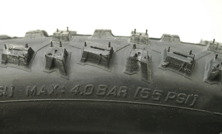 Picture 4: Maximum tyre pressure