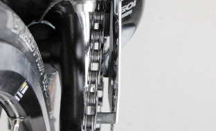 Picture 2: Plate and chainring need to be parallel